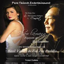 Basil Valdez & Zsa Zsa Padilla – Jul 13, 2008
