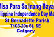 Philippine Independence Day Mass – Sunday, June 14, 2009