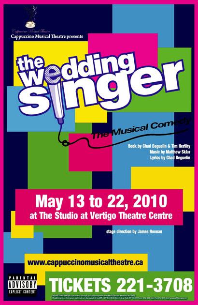The Wedding Singer Musical Calgary