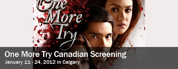 One More Try Movie Playing in Calgary – January 11 to 24, 2013