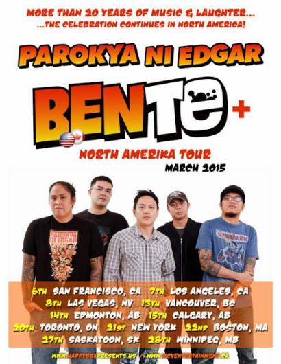 Parokya Ni Edgar Bente North America Tour